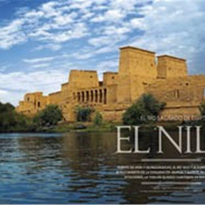 El Nilo, río sagrado de Egipto
