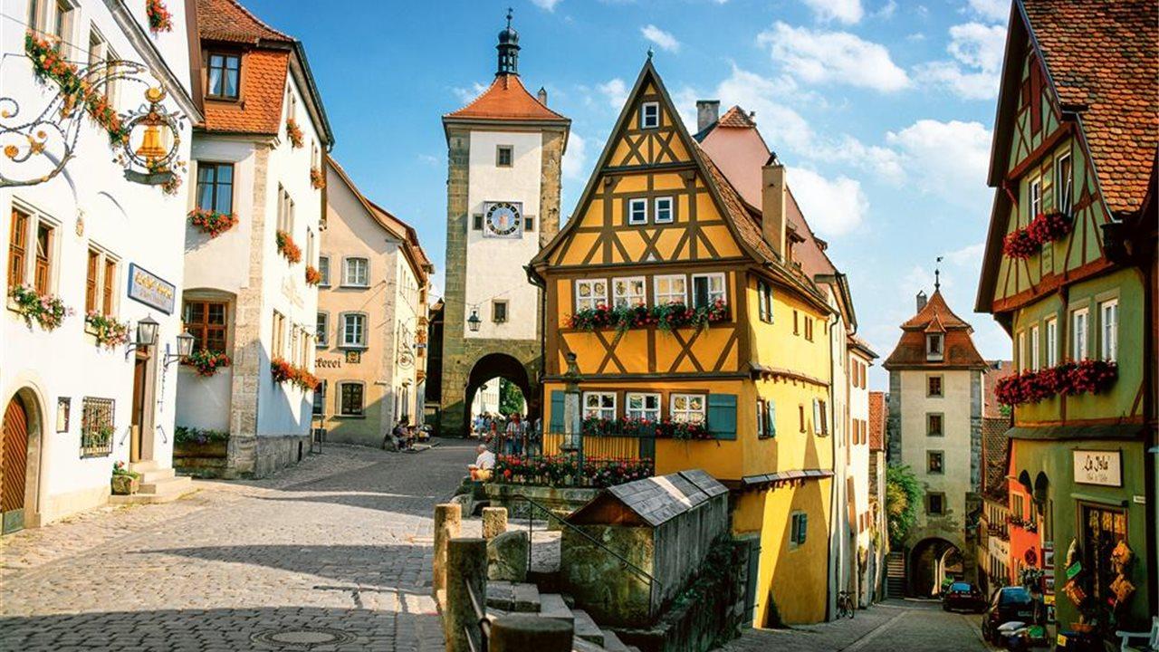 Rothenburg la baviera medieval - Rothenburg ob der tauber alemania ...