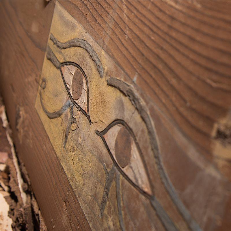 Descubierta la tumba intacta de Shemai, quien vivió a la sombra del poder