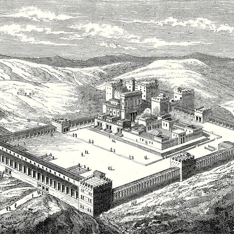 Jerusalén quedó arrasada en 587 a.C.
