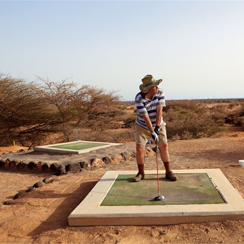 Club de golf de La Douda, Djibouti