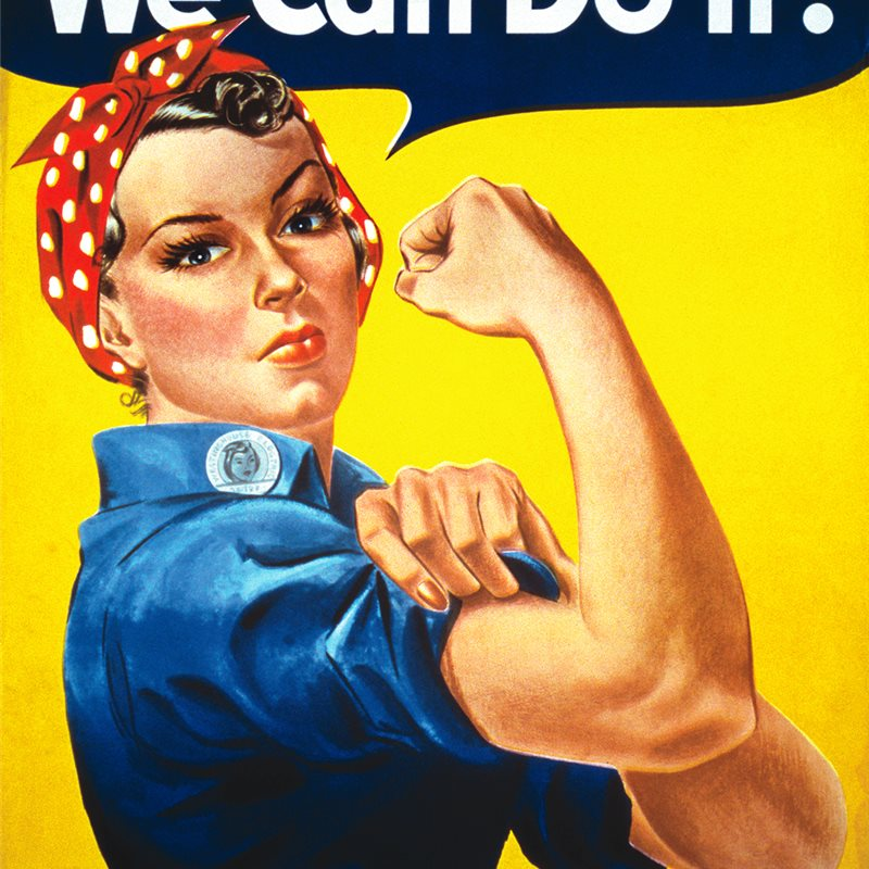 "Naomi Parker Fraley, la mujer que inspiró el cartel del ""We can do it!"""