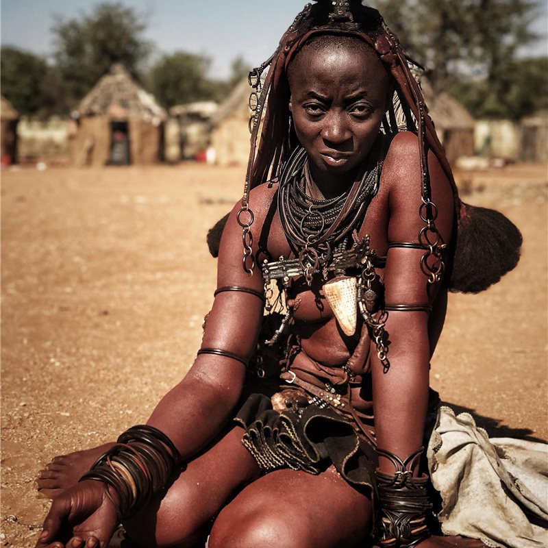 Woman in Namibia
