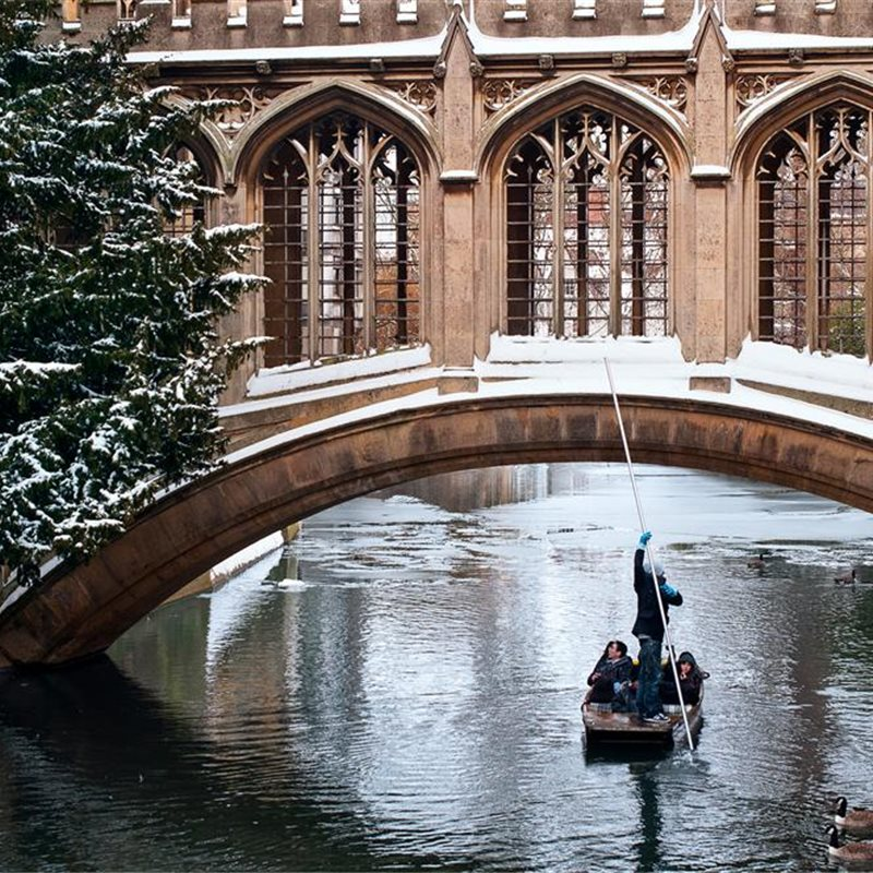 Cambridge en invierno