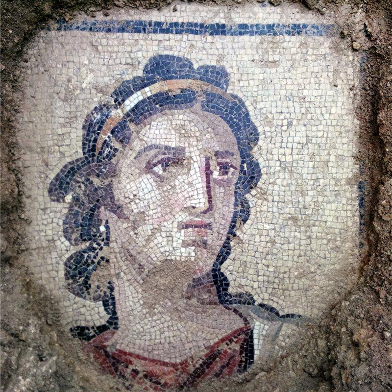 Descubren nuevos mosaicos en Zeugma, Turquía