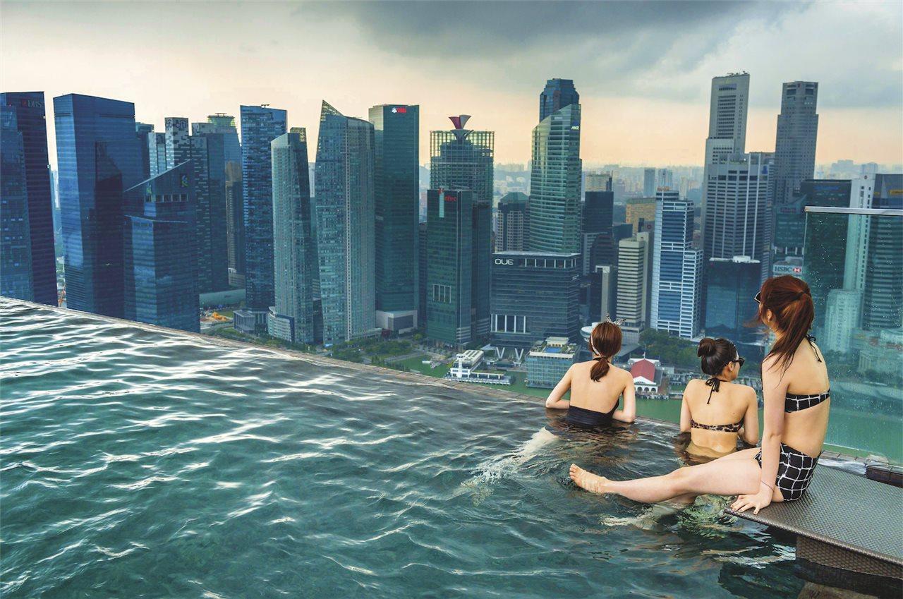Singapur desde las alturas
