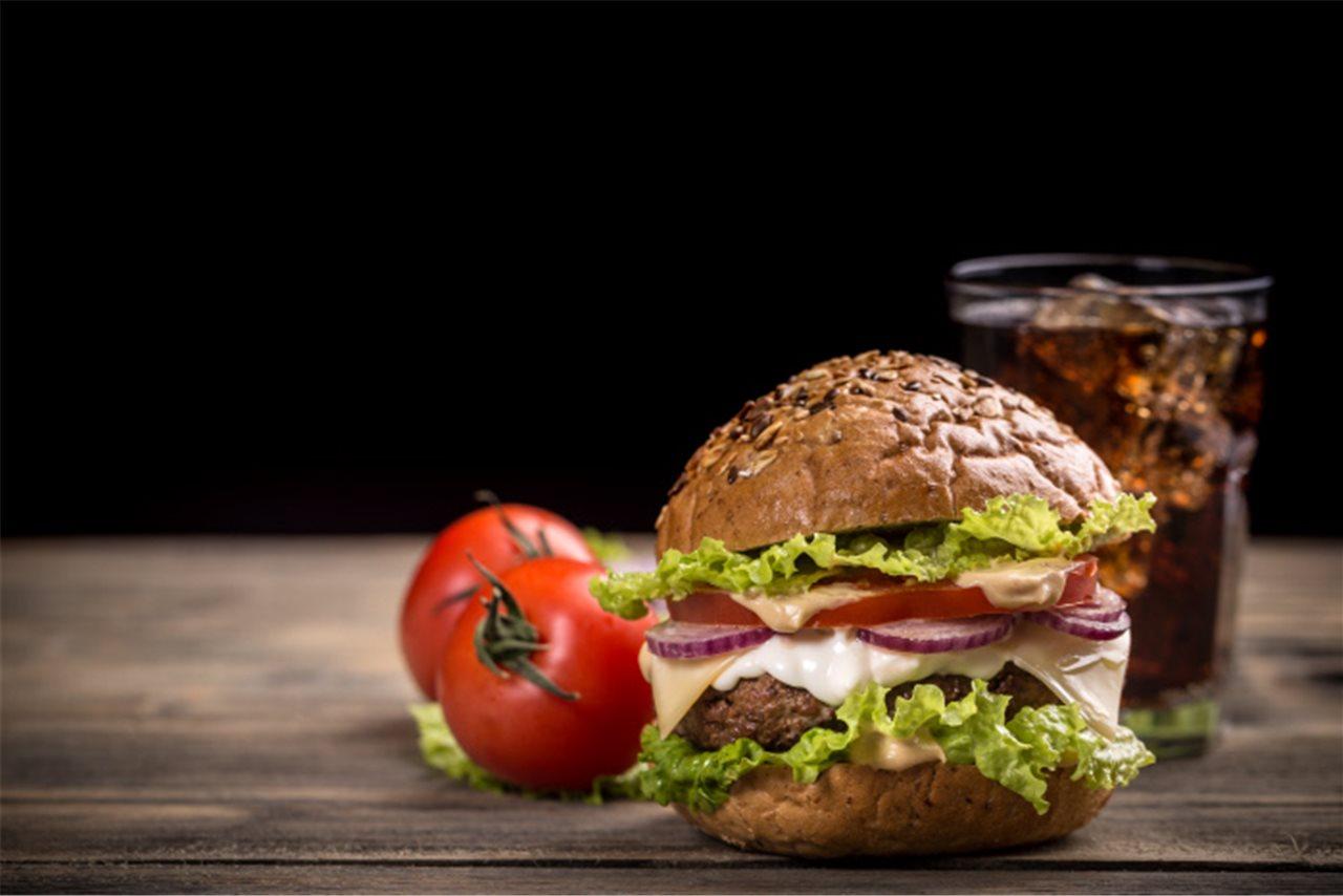 Â¿Hamburguesa o verduras?