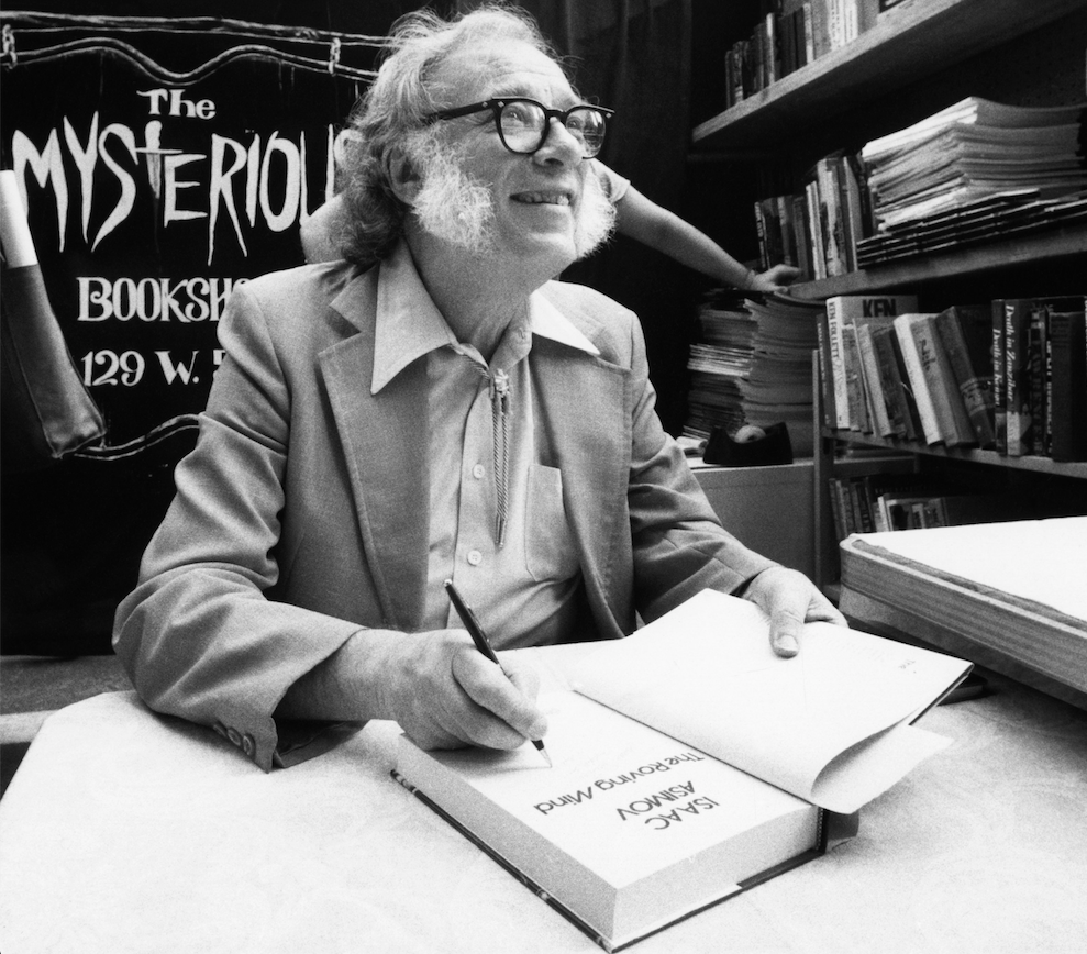 Así imaginó el presente Isaac Asimov