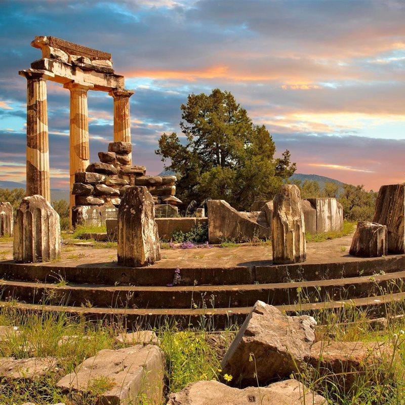 Delfos, el oráculo del dios Apolo