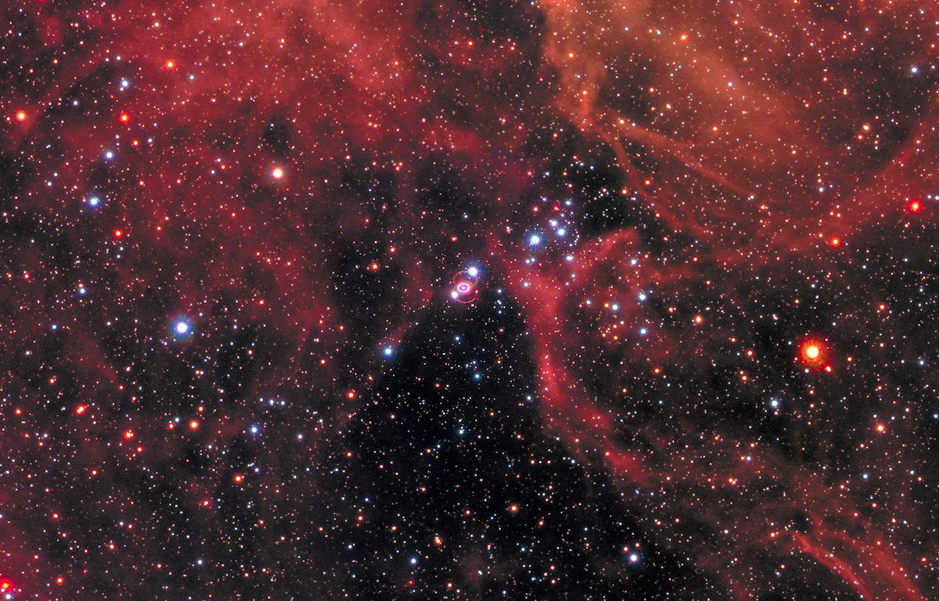 La supernova 1987A . La Supernova 1987A