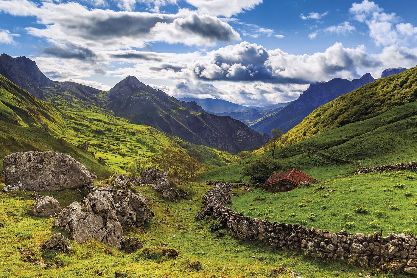 Montañas de leyenda en Asturias