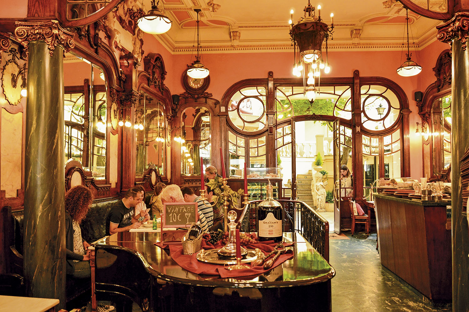 Cafe Majestic Oporto. Cafe Majestic