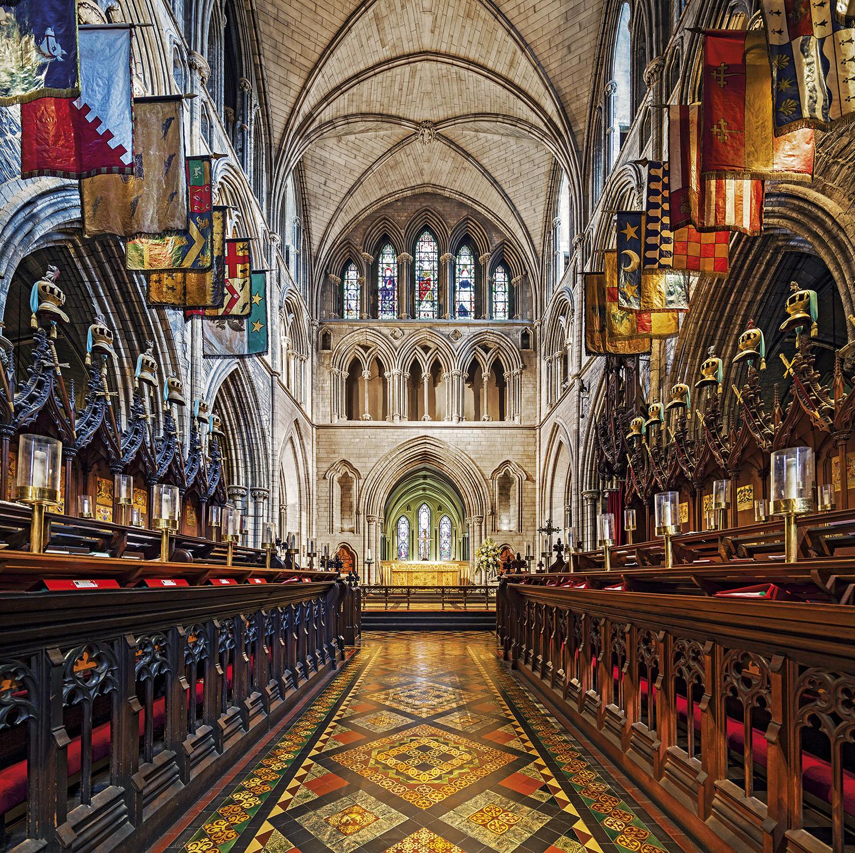 Catedral Saint Patrick Dublin. Saint Patrick. Dublín
