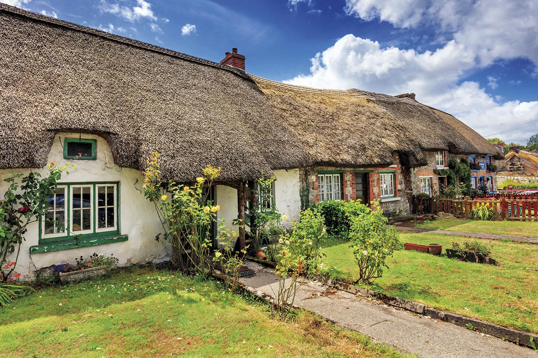 Irlanda traditional cottages. Viviendas con historia