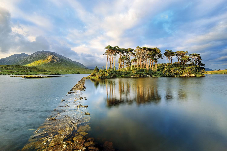 Lago Derryclare Irlanda. Lago Derryclare