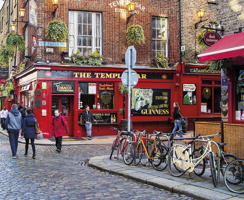 Temple Bar Dublin Irlanda. Temple Bar