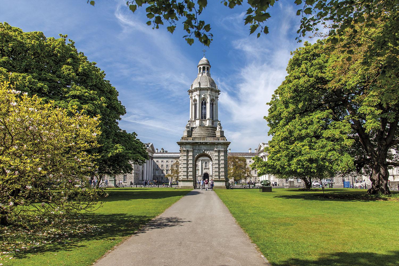 Trinity College Irlanda. Trinity College
