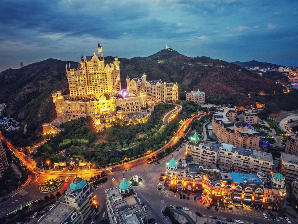 HTS-ZB950 299875 0178 Dalián. The Castle Hotel, Dalian (China)