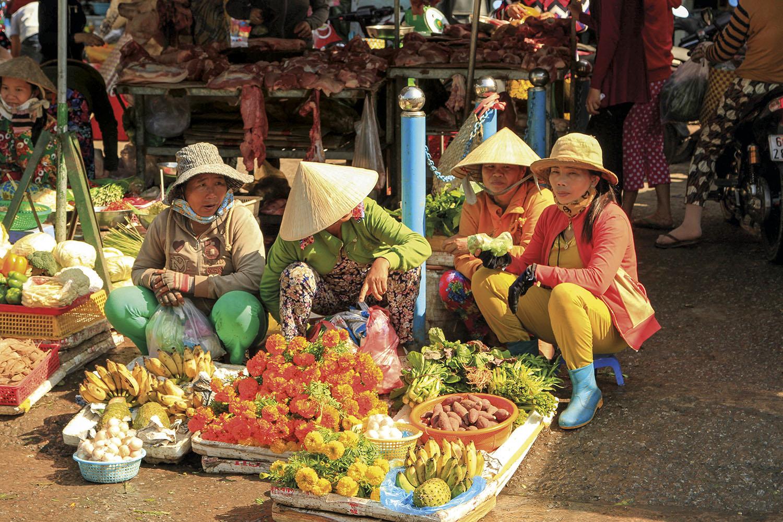 Mercado Duong Dong Vietnam. Mercado Duong Dong