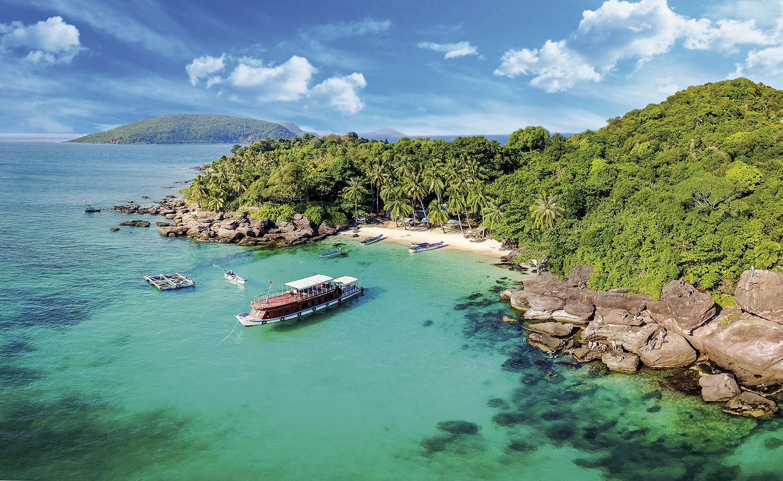 Playa de Kian Giang-isla de Nam Du. Playa de Kian Giang