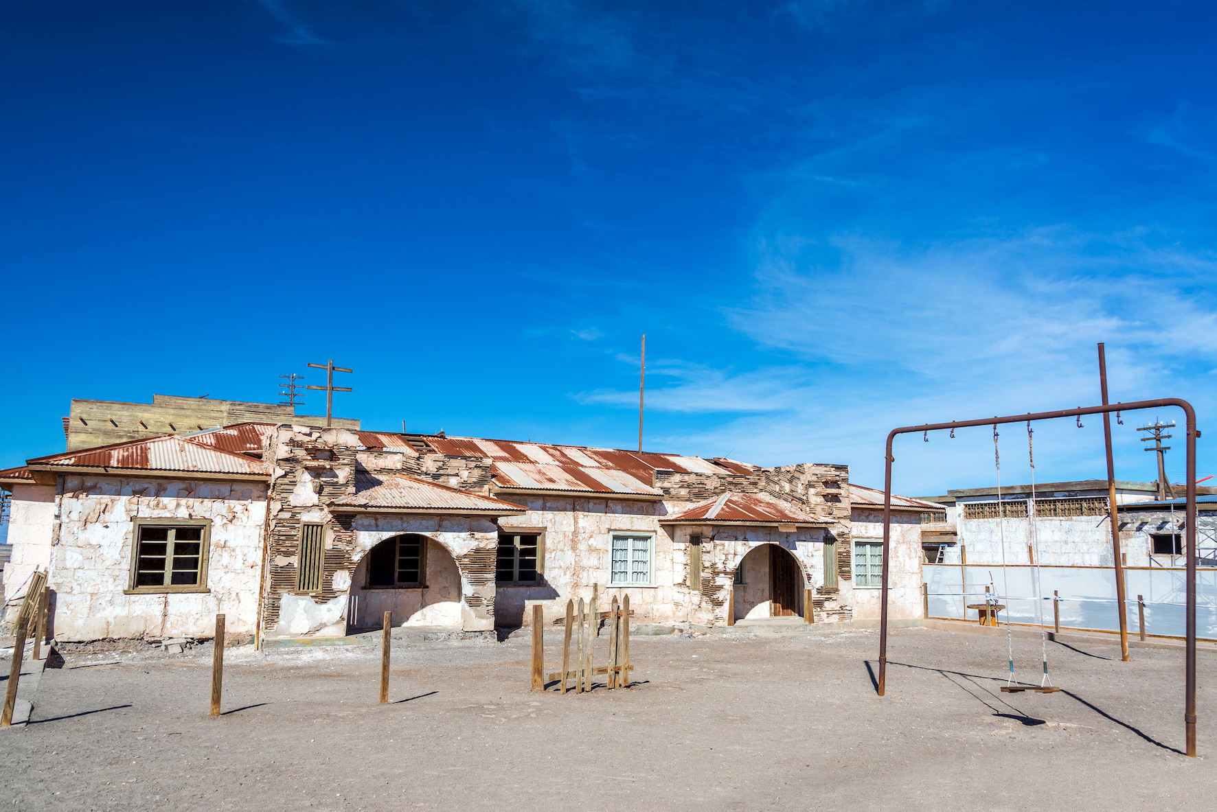 ciudad fantasma humberstone santa laura. Humberstone y Santa Laura, Chile