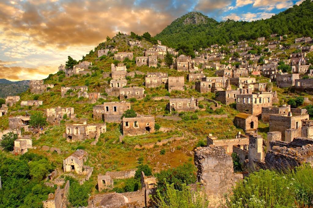 ciudad fantasma kayakoy. Kayaköy, Turquía