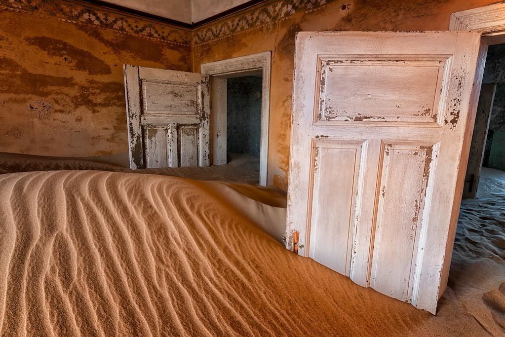 ciudad fantasma kolmanskop. Kolmanskop, Namibia