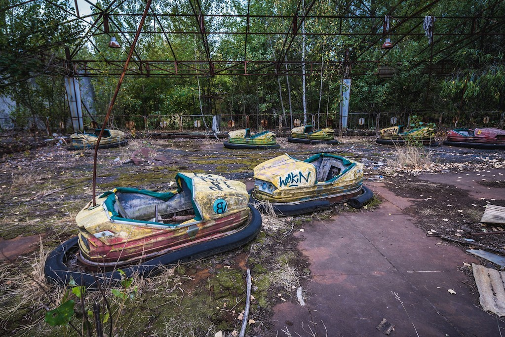 ciudad fantasma pripyat. Pripyat, Ucrania