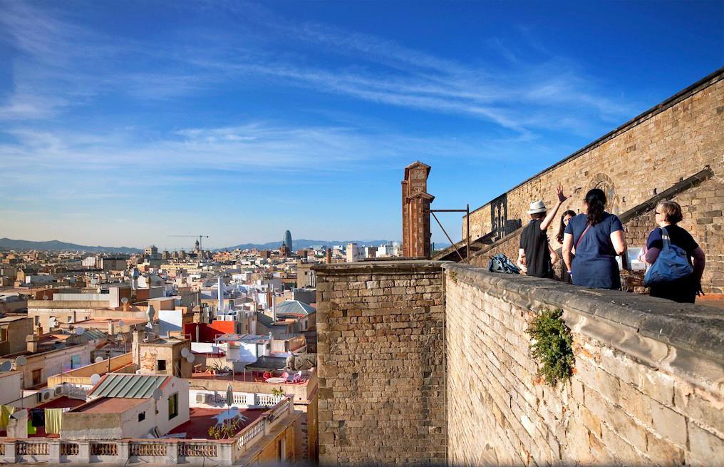 basilica-santa-maria-vistas-barcelona. Es uno de los espacios literarios de la ciudad y ahora se ha convertido en una serie de TV