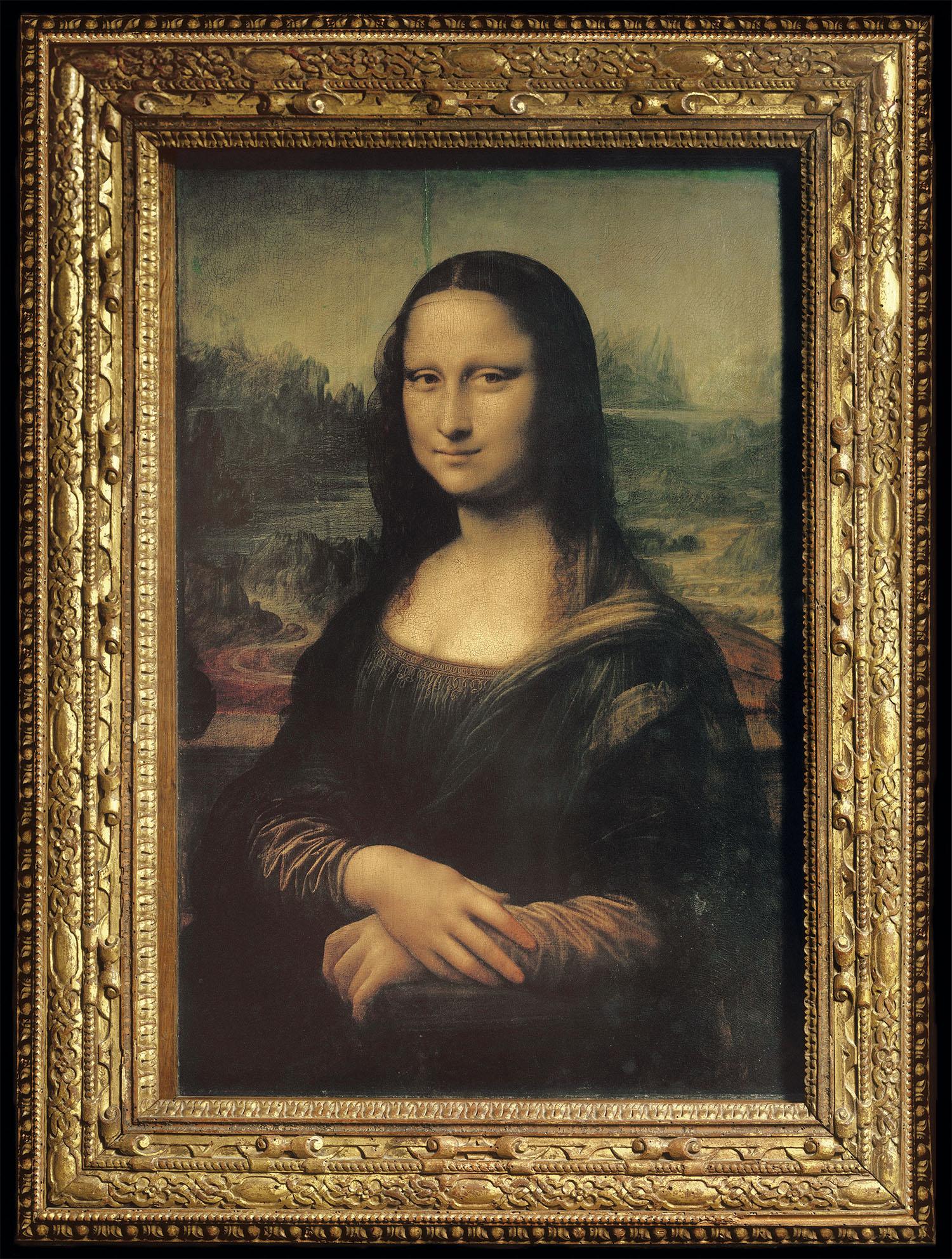 La Mona Lisa, o Gioconda, por Da Vinci.
