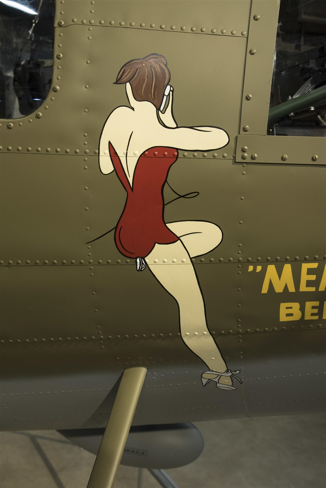 memphisbelle2. Chica 'pin-up'