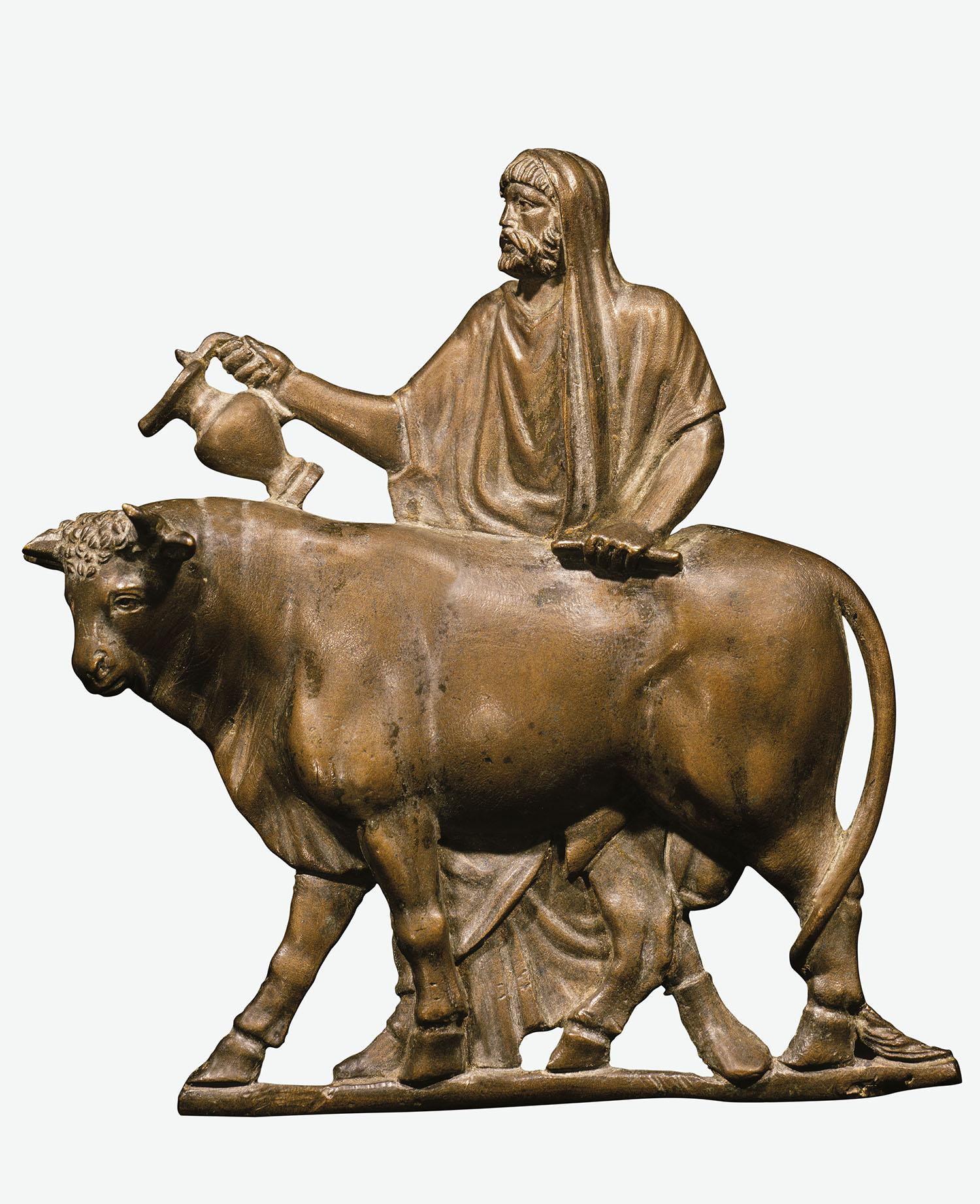 04 sacerdote aceite perfumado toro. Víctima sacrificial