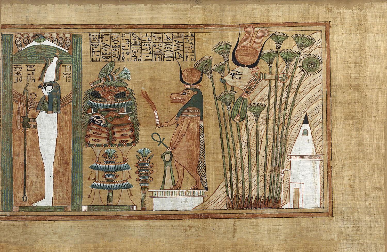 03 diosa Opet hipopotamo papiro Ani. El papiro de Ani
