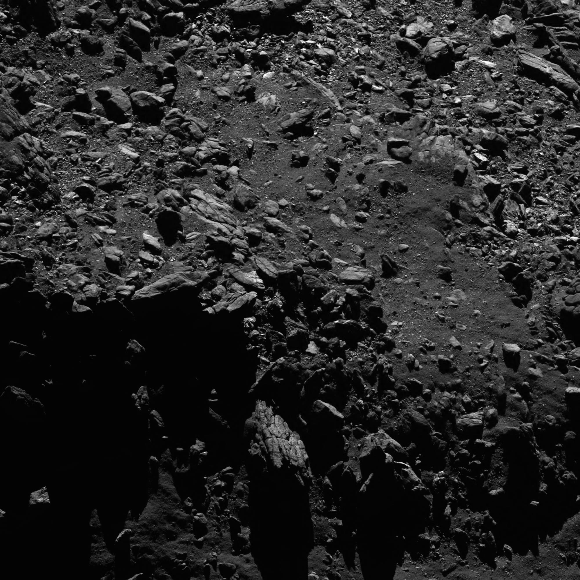 A disposición del público el archivo completo de imágenes de la misión Rosetta