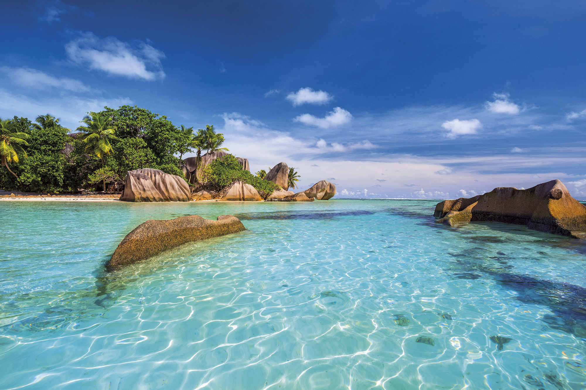 anse-source-argent-seychelless. Esculturas marinas