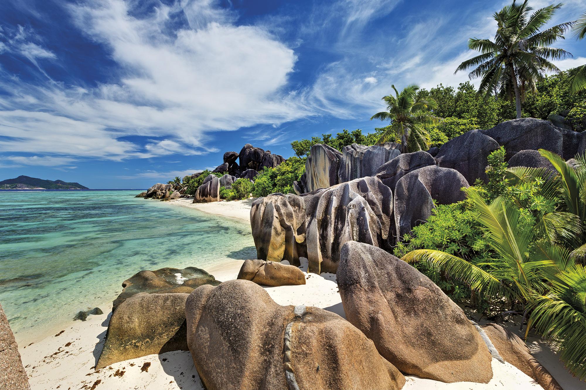 playa-source-anse-argent-seychelles. Playa Source Anse d'Argent (La Digue)