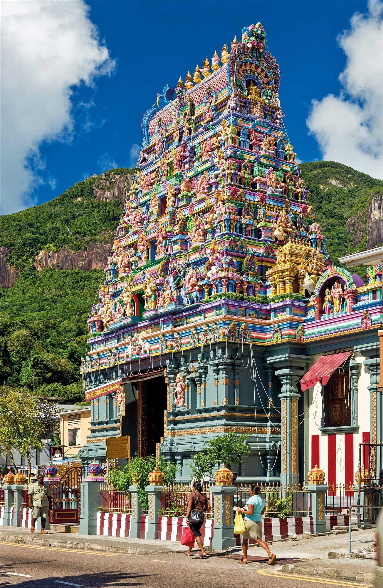 templo-hindu-victoria-seychelles. Templo Arul Mihu Navasakthi Vinayagar