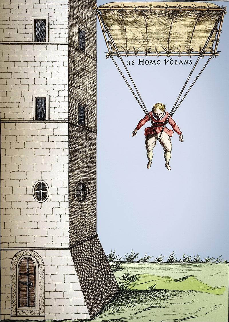 02 hombre volador invento verancio. Hombre volador