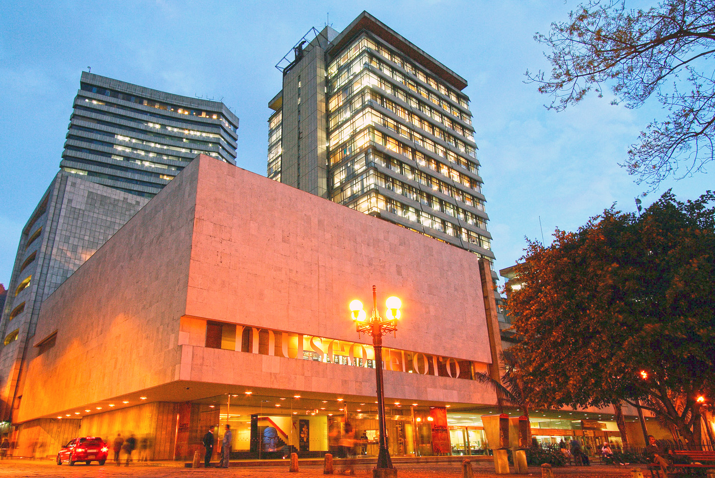 Museo del oro. Museo del oro de Bogotá