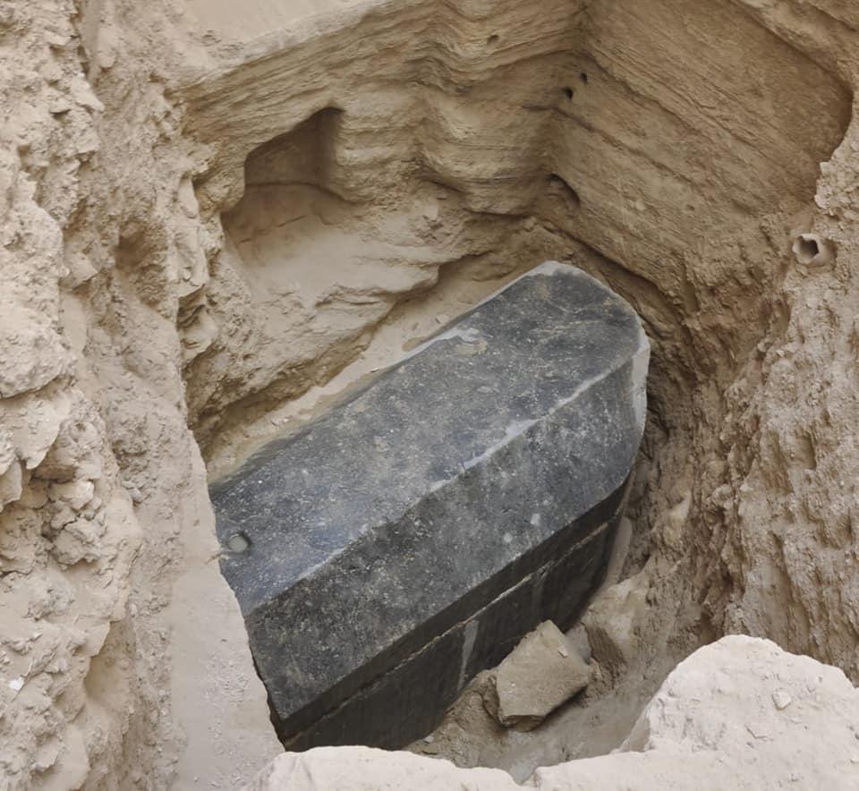 Antiguo Egipto Un Sarc 243 Fago Ptolemaico Intacto Y Una