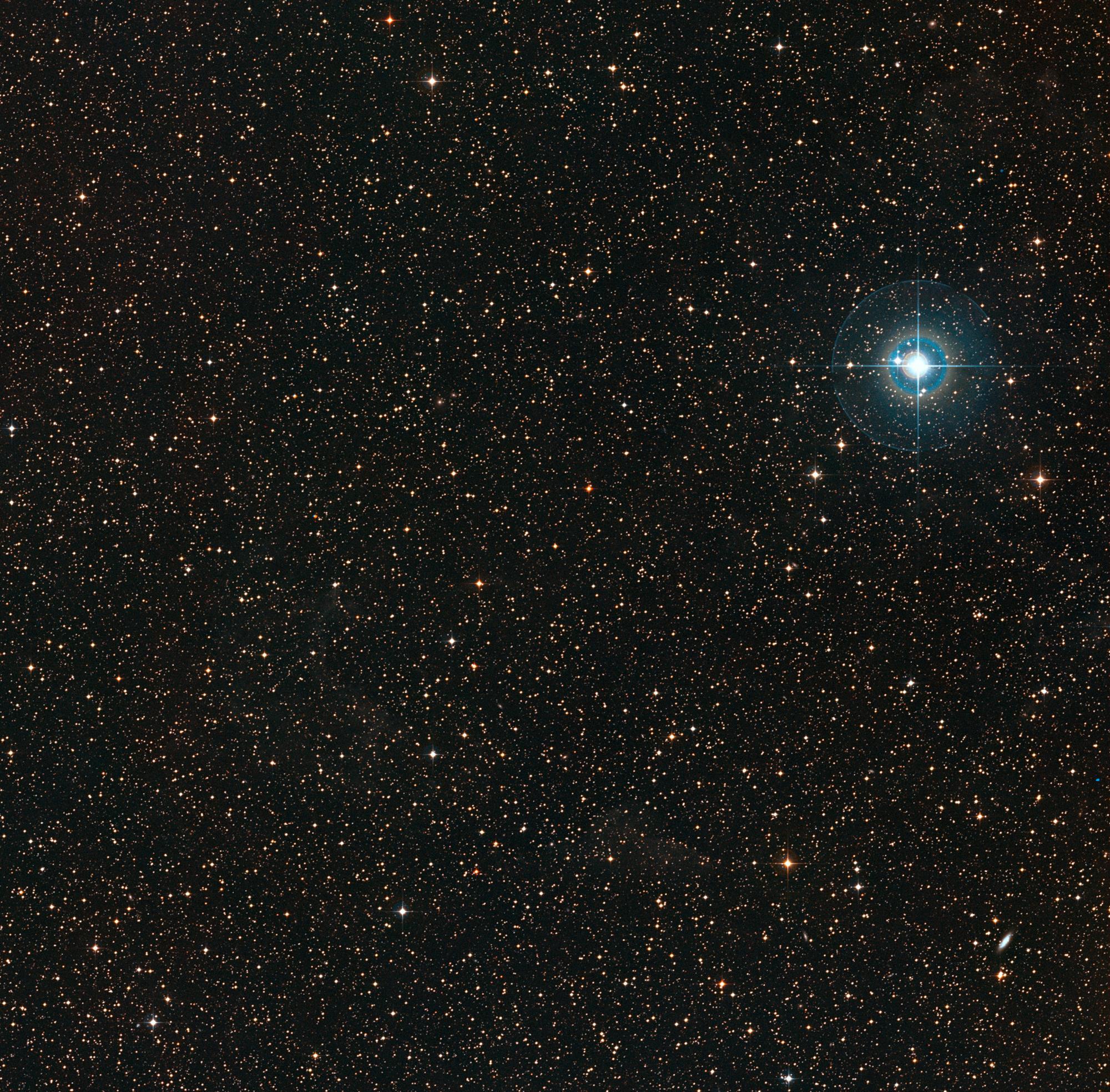 planeta2. Estrella enana PDS 70