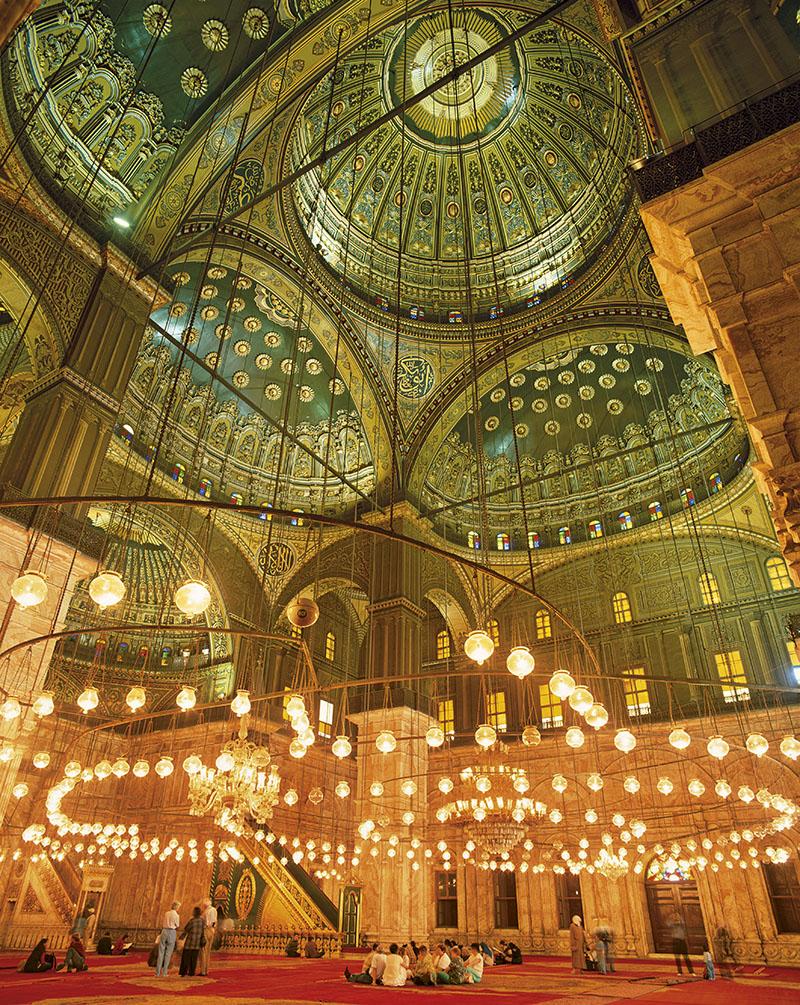 Mezquita El Cairo. Un oasis de calma
