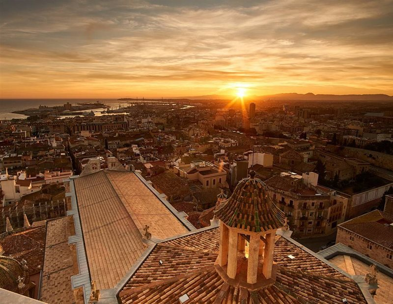 Tarragona vistas desde la Catedral