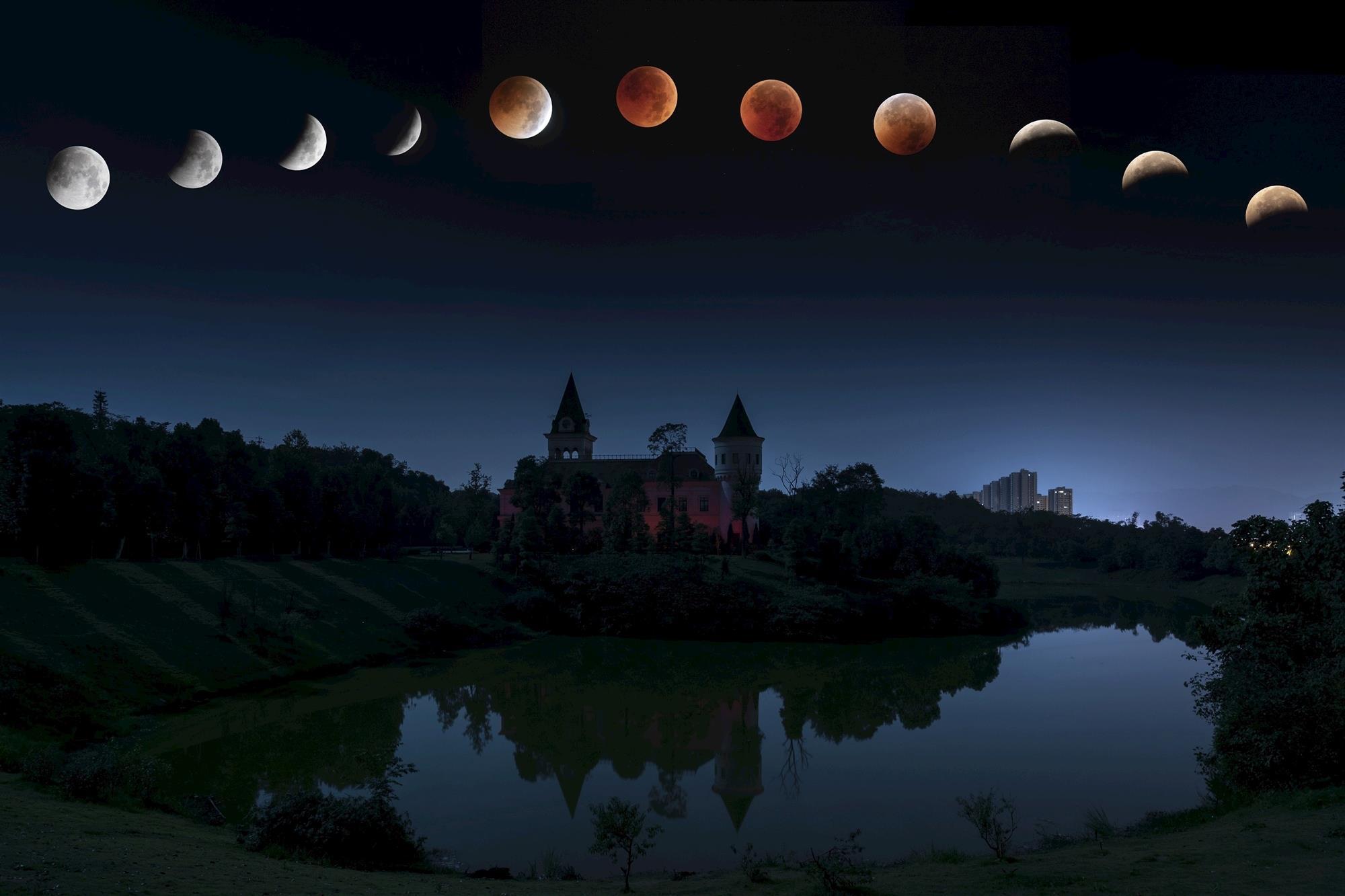Las Mejores Fotos Del Eclipse De Luna De Julio 2018