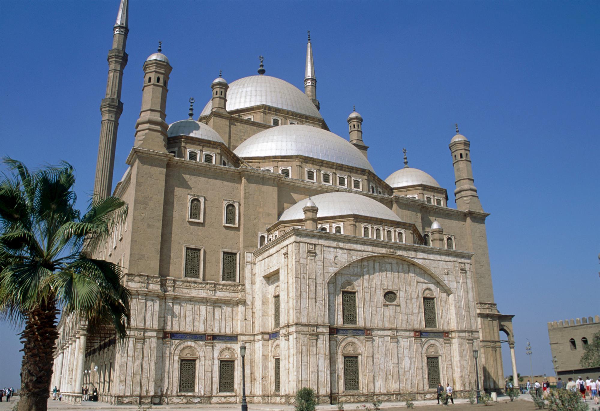 mezquita de alabastro el cairo. La mezquita de Muhammad Alí