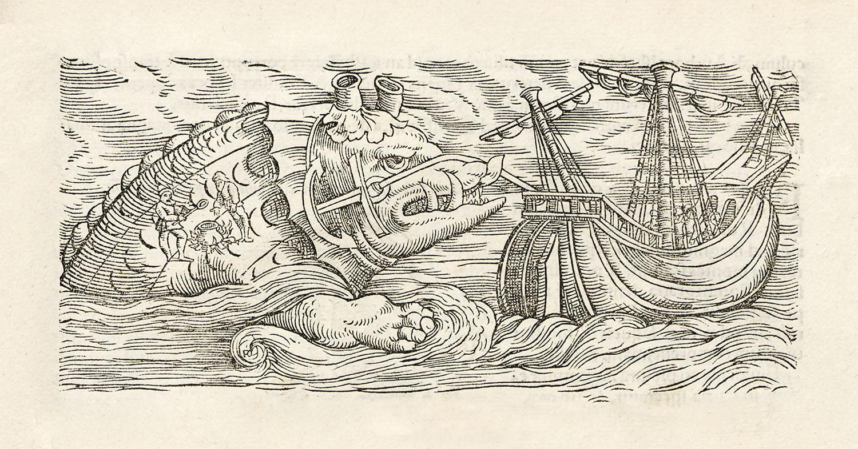 Kraken El Monstruo Marino Que Engullía Barcos