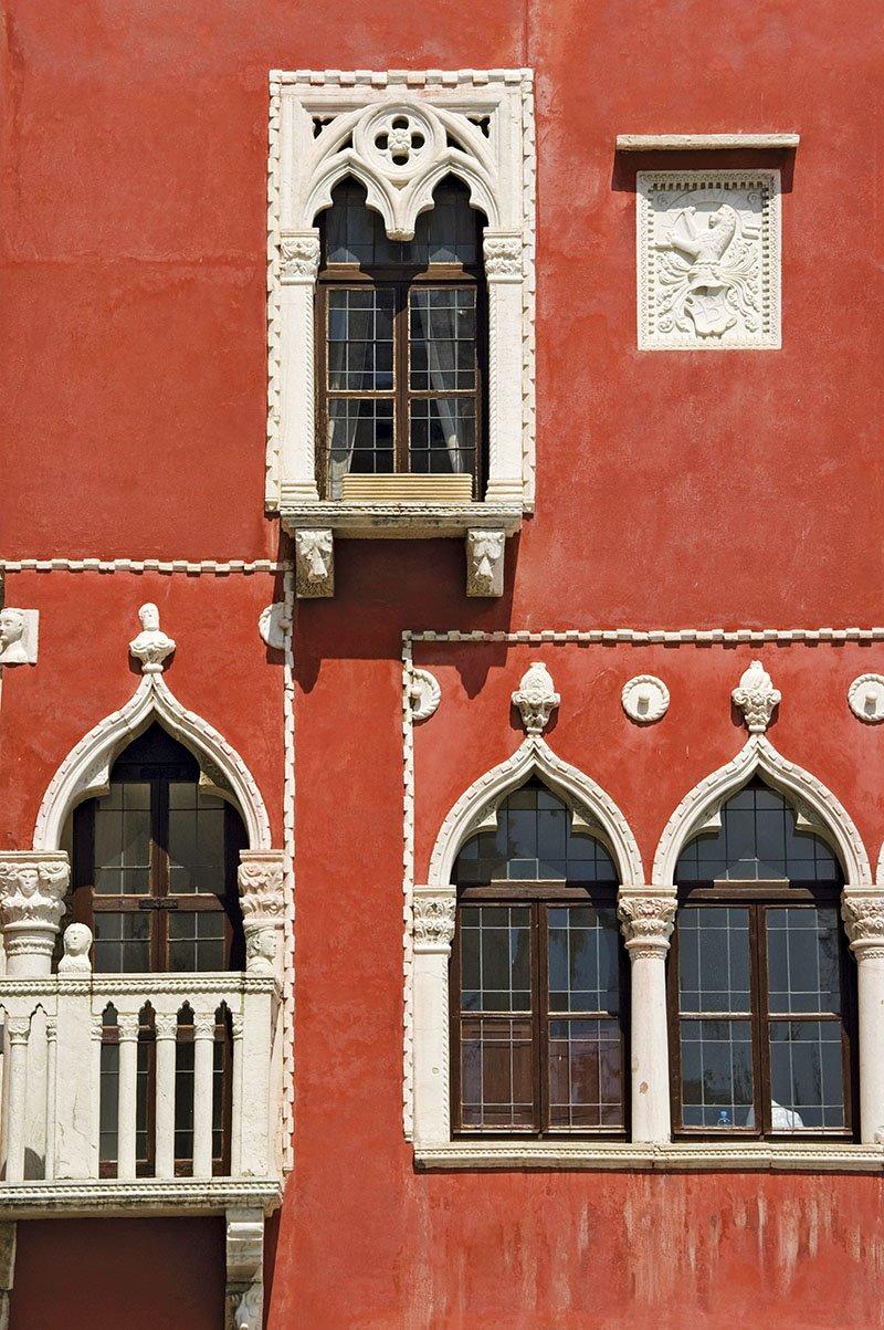 Piran - casa veneciana. Arquitectura zveneciana