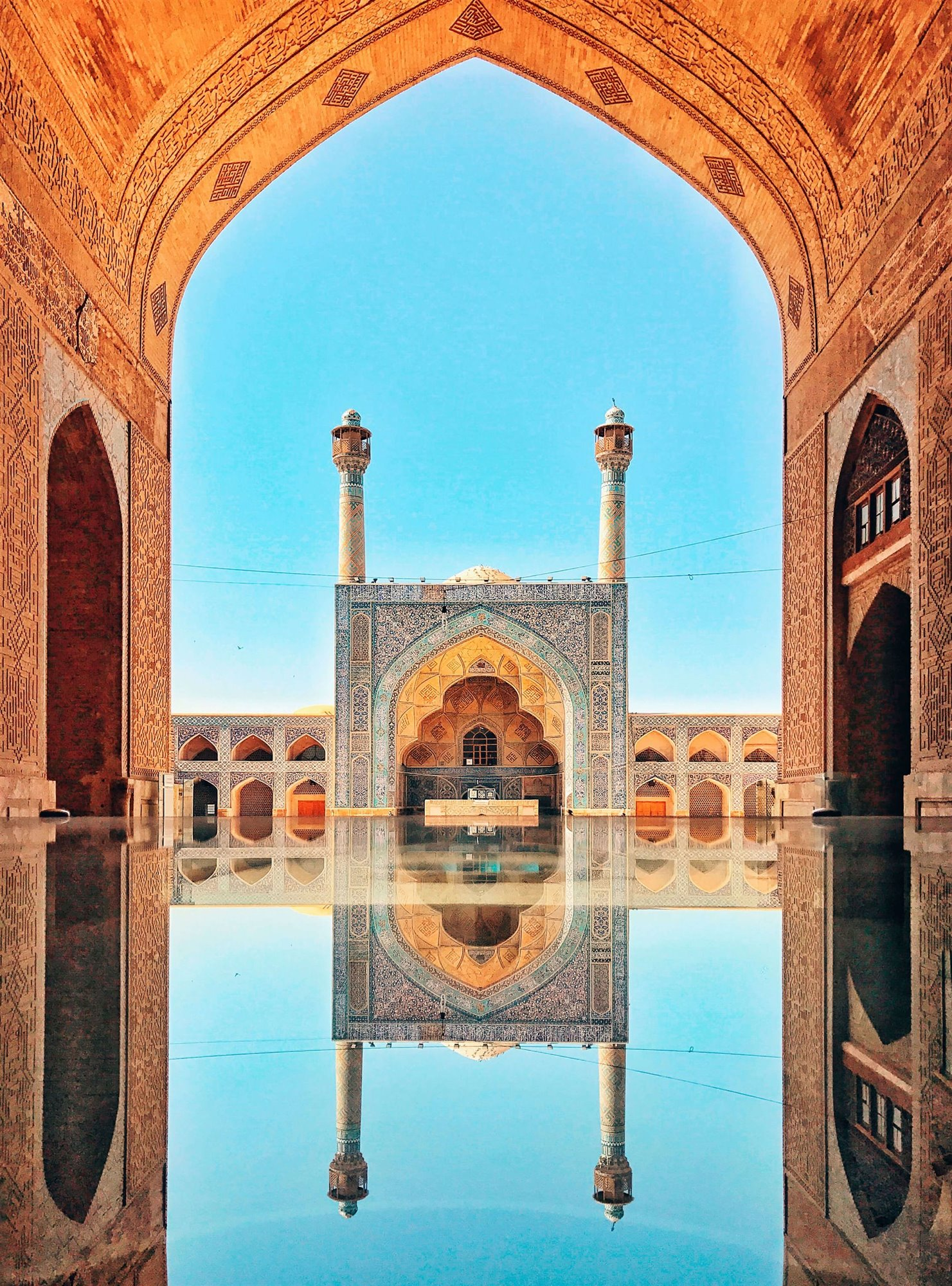 """Jameh Mosque of Isfahan"""