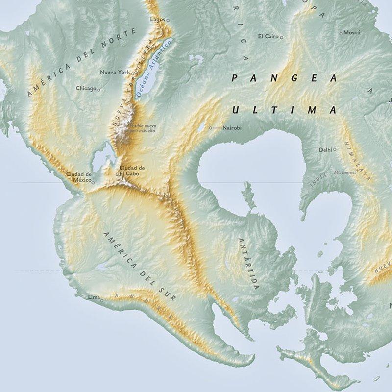 La Tierra dentro de 250 millones de años