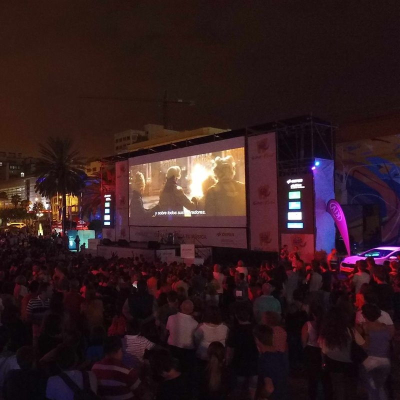 Cine y gastronomía en Canarias